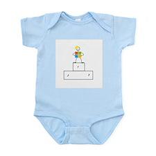 Microsoft is the winner Infant Bodysuit