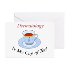 Dermatology is my cup of tea Greeting Cards (Packa