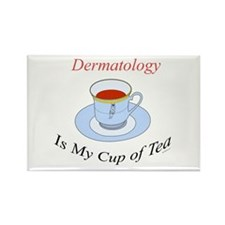Dermatology is my cup of tea Rectangle Magnet
