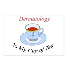 Dermatology is my cup of tea Postcards (Package of