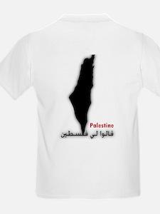 Palestine and Lebanon Kids T-Shirt