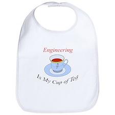 Engineering is my cup of tea Bib