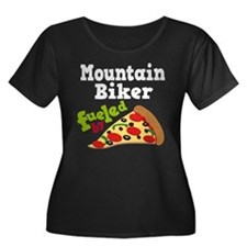 Mountain Biker Funny Pizza T