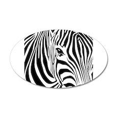 Zebra Print Wall Decal