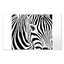 Zebra Print Decal