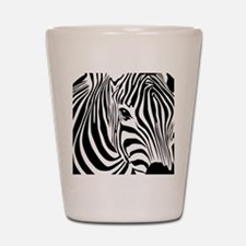 Zebra Print Shot Glass