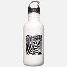 Zebra Print Water Bottle