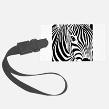 Zebra Print Large Luggage Tag