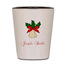Jingle Balls Shot Glass