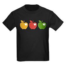 Apple Hearts Love to Teach T