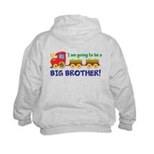 Cute I%27m going to be a big brother Hoodie
