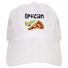 Optician Fueled By Pizza Baseball Cap