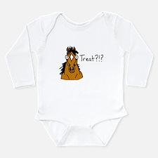 Treat? Long Sleeve Infant Bodysuit