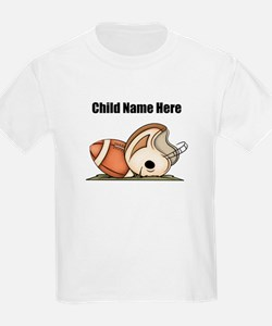 Personalized Football Kids T-Shirt