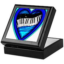 Piano Heart Keepsake Box