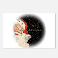 Vintage Santa Claus Postcards (Package of 8)