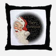 Vintage Santa Claus Throw Pillow