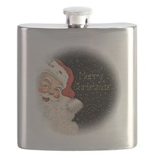 Vintage Santa Claus Flask