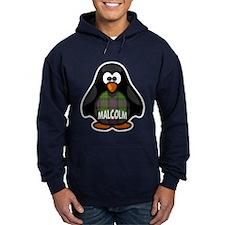 Malcolm Tartan Penguin Hoodie