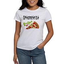 Optometrist Funny Pizza Tee
