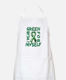 I Wear Green for Myself.png Apron