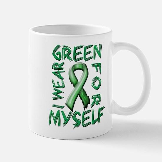 I Wear Green for Myself.png Mug