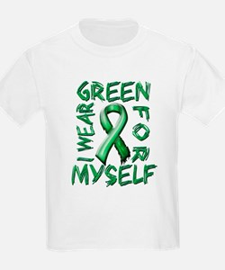 I Wear Green for Myself.png T-Shirt