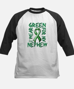 I Wear Green for my Nephew.png Kids Baseball Jerse