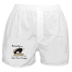 Not That Happy Boxer Shorts