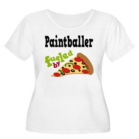 Paintballer Fueled By Pizza Women's Plus Size Scoo