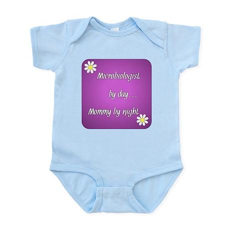 Microbiologist by day Mommy by night Infant Bodysu