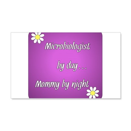 Microbiologist by day Mommy by night 20x12 Wall De