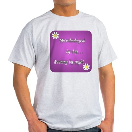 Microbiologist by day Mommy by night Light T-Shirt