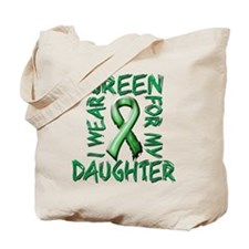 I Wear Green for my Daughter.png Tote Bag
