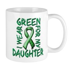 I Wear Green for my Daughter.png Mug
