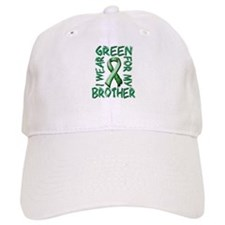 I Wear Green for my Brother.png Baseball Cap