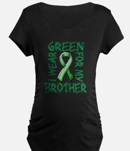 I Wear Green for my Brother.png T-Shirt