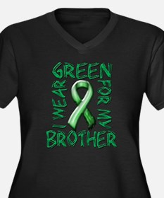 I Wear Green for my Brother.png Women's Plus Size