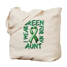 I Wear Green for my Aunt Tote Bag