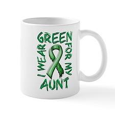 I Wear Green for my Aunt Mug