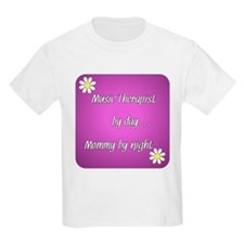 Music Therapist by day Mommy by night T-Shirt
