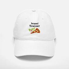 Personal Trainer Pizza Baseball Baseball Cap