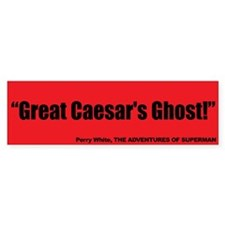 Great Caesar's Ghost - Superman Bumper Sticker