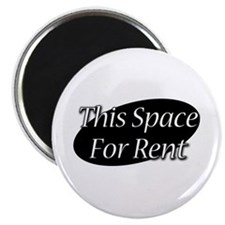 This Space For Rent Magnet