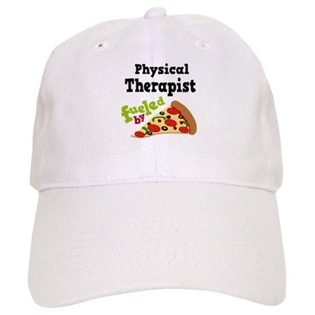 Physical Therapist Pizza Cap