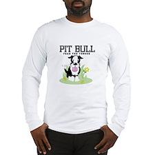 Pit Bull Fear the Tongue Long Sleeve T-Shirt