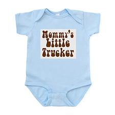 Mommys Little Trucker Infant Bodysuit