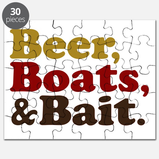 Beer Boats and Bait Fishing Puzzle