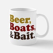 Beer Boats and Bait Fishing Mug