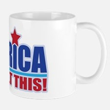 AMERICA WE BUILT THIS! Mug